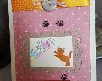 Hello kitty card