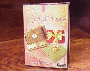 Easy Gift Wrapping Instructional DVD, from Selectmedia, Instruction, How To