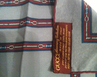 Gucci silk scarf bandana