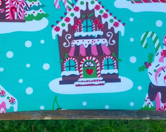 Gingerbread House Cosmetic Bag