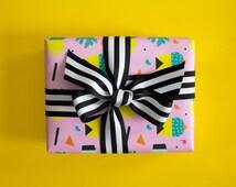 Cactus Keeper Gift Wrap, Single Sheet