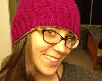 Wandering Gypsy Reversible Knit Hat Pattern