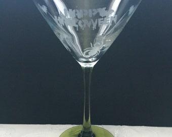Halloween Martini Glasses