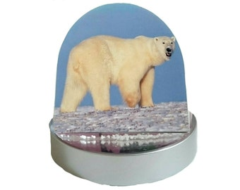 Arctic Polar Bear - Glitter Dome/ Snow Globe, Snowglobe