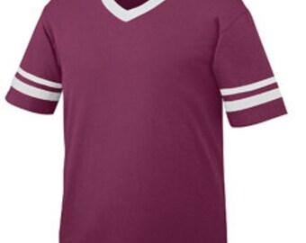 Ladies Monogrammed Short Sleeve Spirit Shirt - Ladies Football Tee - Ladies Football Jersey - Alabama Football - Sec Football - Miss State