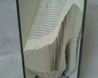 Ladies Stiletto - Book Folding Pattern Only