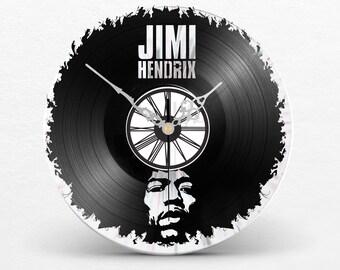 Vinyl Clock Jimi HENDRIX // Woodstock