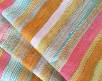 Art Gallery Sew Caroline Chalk and Paint Dripping Paint  1 yard