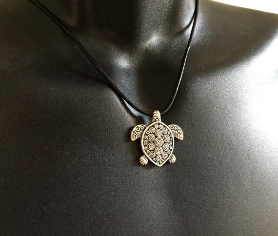 items similar to mens sea turtle necklace hawaiian hono