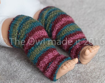 Christmas Baby leg warmers Toddler leg warmers Newborn prop Christmas prop Wool leg warmers Baby Gift Toddler Gift  Knit for kids UK seller