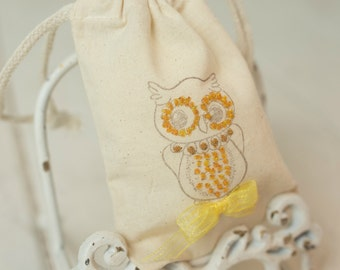Woodland Party - Owl Favor Bag - Decorations - Baby Shower - Birthday Party - Forest Animals - First Birthday - Owl Party - Customized
