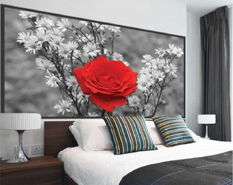Rose Wall Decor wall accents   etsy