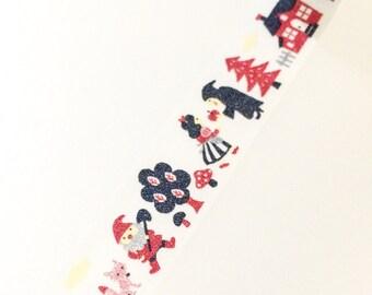 Snow White Washi Tape - Type A