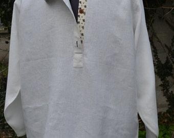 Russian shirt cut traditional Kosovorotka