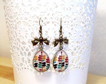 "Earrings ""Precious"" colored"