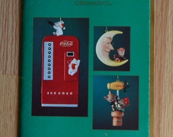 1989 Enesco Treasury of Christmas Ornament Brochure