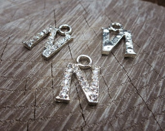 Letter N  Pendant Charms ~1 pieces #100616