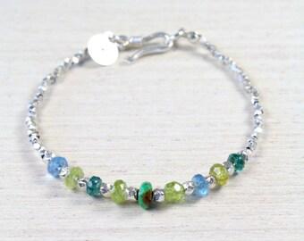 Karen Silver Forest Bracelet