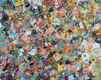 Kawaii Sticker Flakes/Seal Flakes Grab Bag 100 pcs