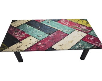Color Coffee table
