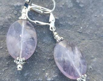 Faceted Ametrine earrings
