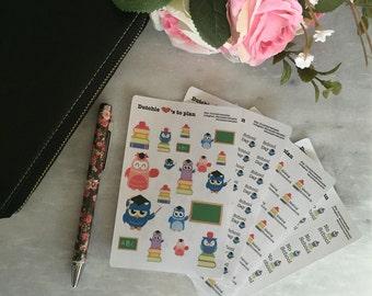 Stickers | Owl school - 010-013