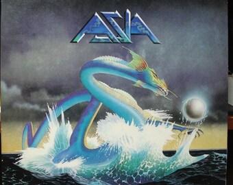 "Asia ""self-titled debut"" Vinyl  LP 1982"