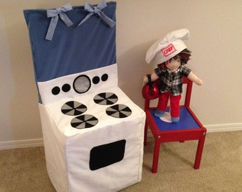 Chair Slipcover- Play Stove