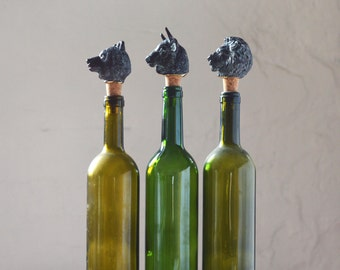 Set of three Bottle Stoppers