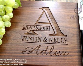 Personalized Cutting Board - Engraved Cutting Board, Custom Cutting Board, Wedding Gift, Housewarming Gift, Anniversary Gift, Engagement 003