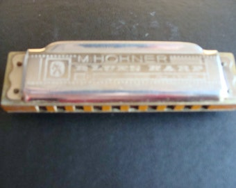 M. Hohner Blues Harp Harmonica in the Key of C  made in Germany