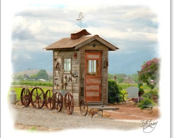 Tool Shed (Can be personalized)