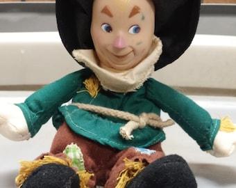 "Scarecrow Plush 8"" tall doll"