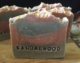 Sandalwood Soap, Handmade, Natural, Organic