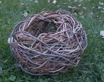 Grapevine and Mulberry Twig Basket