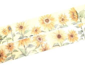 Sunflowers washi tape (T00362)
