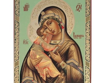 Vladinirskaya russian icon - #24bb