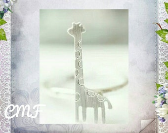 Giraffe Ring 925 Sterling Silver Ring