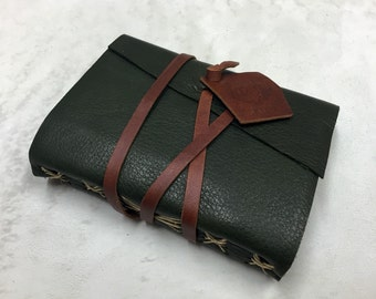 The Woodland Leather Journal - 6 x 4.5 in