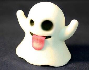 Ghost Emoji Figurine