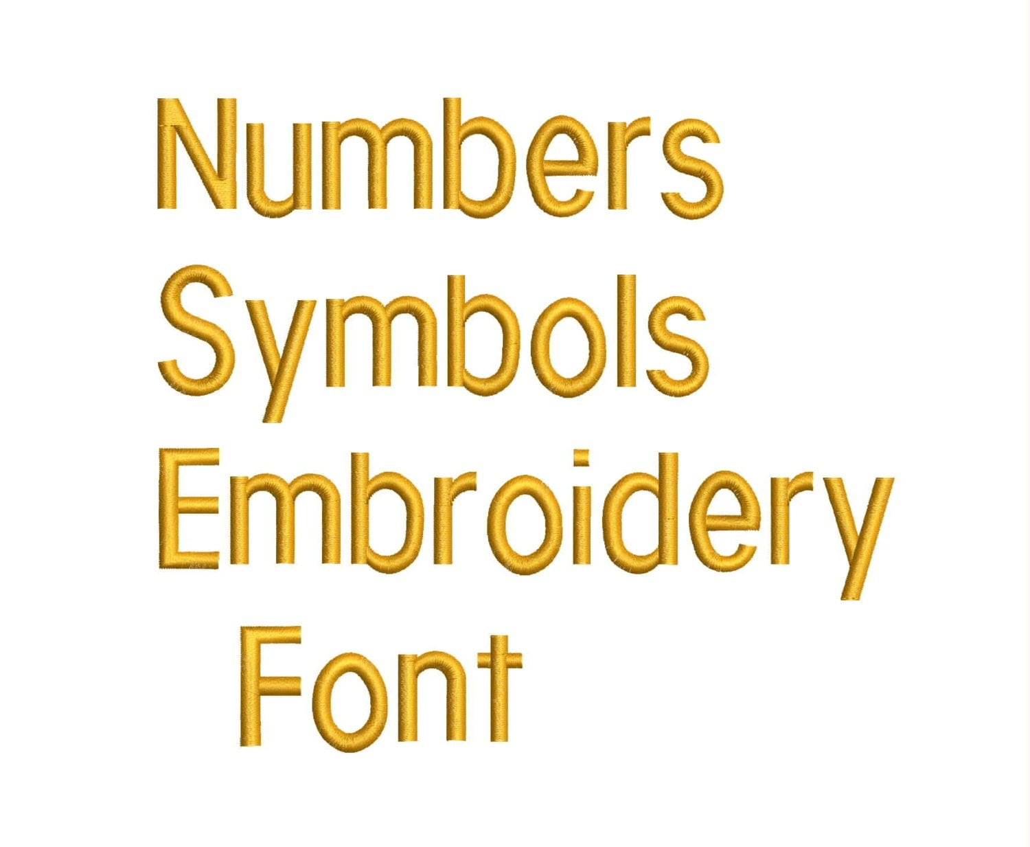 machine embroidery font designs letters numbers symbols alphabet 0 5  1  u0026 1 5 inch sizes from