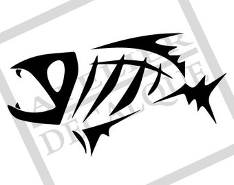 G-0005 - Decal Fish - Sport