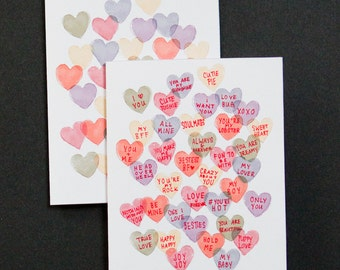 PRINTABLE :  Sweethearts Candy Valentine Cards