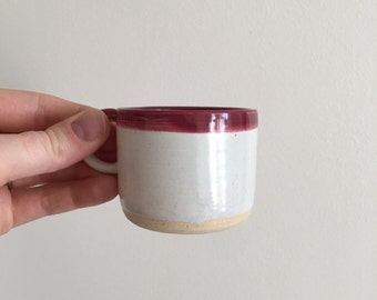 Ceramic Espresso Cups, Espresso Cups, Red Espresso Cups, White Espresso Cups, Coffee Lover Gifts