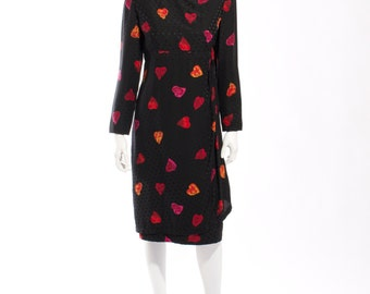 1980s Carolina Herrera Studio Neiman Marcus Dress