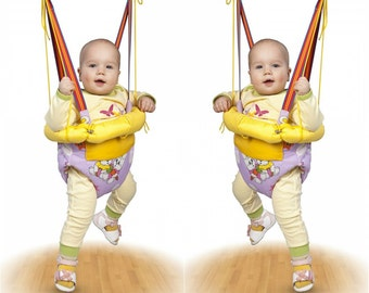 Baby Jumper with hoop, Swing, Trapeze, Bungee, Exerciser