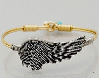 Guardian Angel Wing Love Bracelet