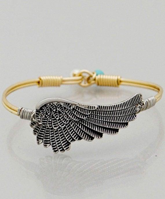 Guardian Angel Wing Love Bracelet