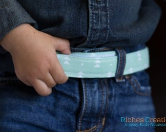 Mint Kids Belts- Adjustable Velcro Belt
