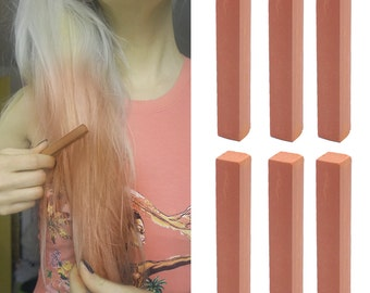 6 Best Temporary Light Brown hair Dye for dark and light hair - Set of 6 | DIY Brown hair Chalk for easy and simple hair coloring at home